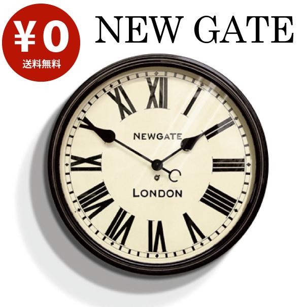 【ポイント最大27倍!7日9:59まで】\キャッシュレス5%還元/ 【送料無料】Battersby wall clock バタースビーウォールクロック アンティーク オシャレ イギリス NEW GATE ニューゲート 壁掛け時計