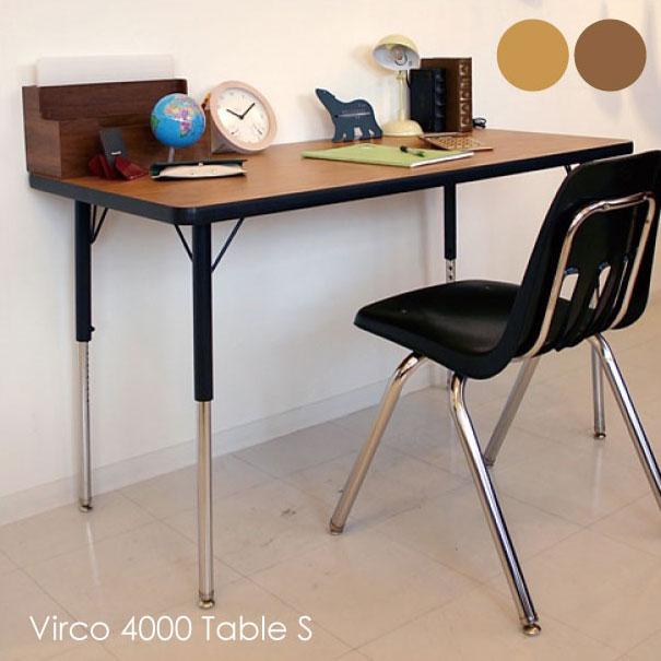 【ポイント最大27倍!7日9:59まで】\キャッシュレス5%還元/ 【送料無料】VIRCO 4000 Table(S) ウォールナット オーク テーブル 鉄脚 木製 ウッド