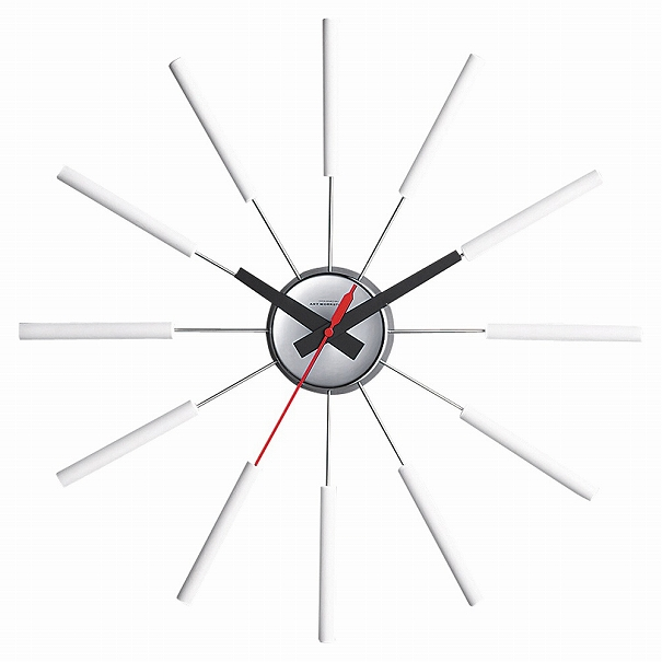 【ポイント最大27倍!7日9:59まで】\キャッシュレス5%還元/ 【送料無料】ARTWORK STUDIO 壁掛け時計 掛時計 ウォールクロック シンプル モダン Atras WH アトラス ホワイト