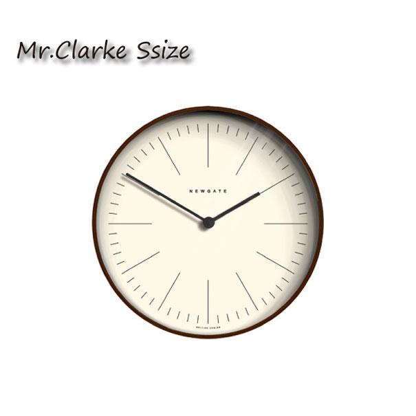 \キャッシュレス5%還元/ 【送料無料】NEW GATE Mr.Clarke(S) 時計 壁掛け アンティーク おしゃれ 雑貨 インテリア インダストリアル ウッド ガラス 贈り物 TR-4287