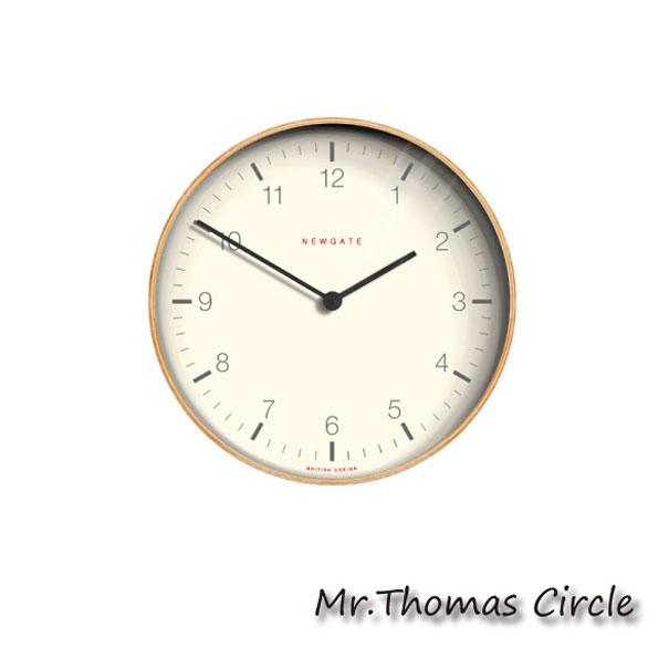 【ポイント最大27倍!7日9:59まで】\キャッシュレス5%還元/ 【送料無料】NEW GATE ニューゲート Mr.Thomas Circle 壁掛け時計 アンティーク おしゃれ 雑貨 インテリア インダストリアル ウッド 贈り物 TR-4289