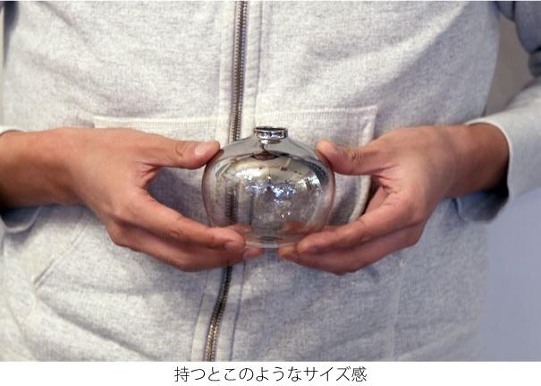 HUNT9 Cyril Ball 一輪挿し 花瓶 フラワーベース 小さい ガラス 北欧 おしゃれ インテリア かわいい 9015