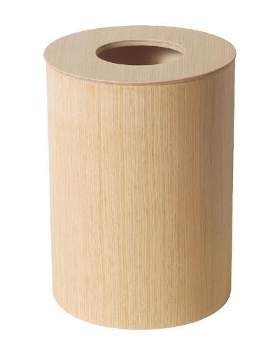【ポイント最大27倍!7日9:59まで】\キャッシュレス5%還元/ SAITO WOODサイトーウッド dust box ペーパーバスケット white oak grain No.952H ホワイトオーク ダストボックス フタつきゴミ箱 Lサイズ