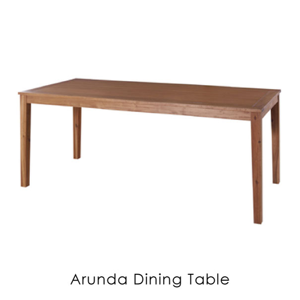 【ポイント最大34倍!16日1:59まで】\キャッシュレス5%還元/ 【送料無料】alunda dining table 1800 ウッド 木製 ダイニングテーブル 6人掛け NX-714