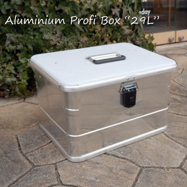 """【ポイント最大33倍!16日1:59まで】【送料無料】Hunersdorff Aluminium Profi Box """"29L"""" コンテナボックス 工具箱 ツールボックス 大型 アルミ おしゃれ"""