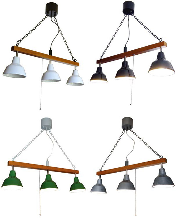 【ポイント最大33倍!16日1:59まで】【送料無料】マルティ3 北欧テイスト 照明 スポットライト HERMOSA ホーローランプ スポットライト ペンダントランプ 琺瑯ランプ ダイニング照明 リビング照明 ビンテージ 180w