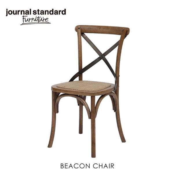 【ポイント最大27倍!7日9:59まで】\キャッシュレス5%還元/ journal standard Furniture ジャーナルスタンダードファニチャー BEACON CHAIR ビーコンチェア 椅子 チェア チェアー ダイニングチェア 家具 無垢 おしゃれ 木製 アイアン 鉄 オーク