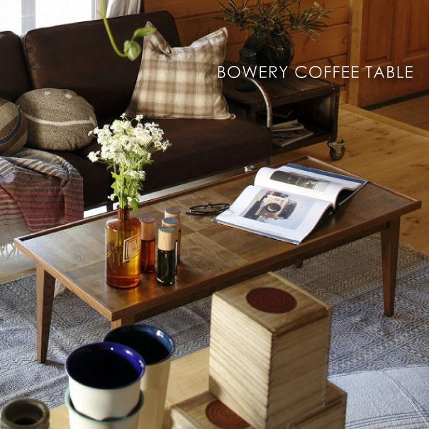 【ポイント最大27倍!7日9:59まで】\キャッシュレス5%還元/ journal standard Furniture ジャーナルスタンダードファニチャー BOWERY COFFEE TABLE バワリー コーヒーテーブル 120 家具 無垢 おしゃれ 木製 高さ40cm