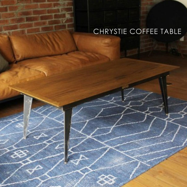 【ポイント最大27倍!7日9:59まで】\キャッシュレス5%還元/ journal standard Furniture ジャーナルスタンダードファニチャー CHRYSTIE COFFEE TABLE クリスティ コーヒーテーブル 120 家具 無垢 おしゃれ 木製 高さ42cm