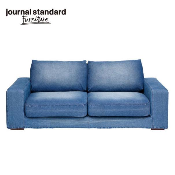 【ポイント最大33倍!16日1:59まで】journal standard Furniture FRANKLIN SOFA DENIM フランクリンソファデニム ブルー デニムソファ 家具 2人掛け 2.5人掛け ソファ おしゃれ インダストリアル アンティーク ヴィンテージ 男前