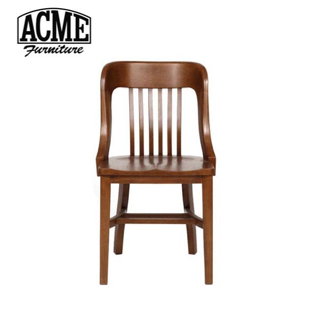 【ポイント最大33倍!16日1:59まで】ACME FURNITURE アクメファニチャー BANK CHAIR バンク チェア 椅子 いす イス 無垢 ウッド 木製 アメリカン【送料無料】おしゃれ インダストリアル アンティーク ヴィンテージ ブルックリン 男前 カリフォルニア