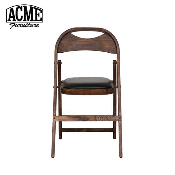 【ポイント最大27倍!7日9:59まで】\キャッシュレス5%還元/ 【送料無料】ACME FURNITURE アクメファニチャー CULVER CHAIR カルバー チェア 折りたたみ フォールディングチェア 椅子 いす イス 無垢 ウッド 木製 ブラック アメリカン