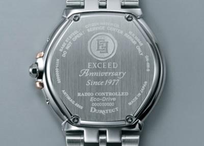 シチズン エクシード CITIZEN EXCEED エコドライブ ソーラー 電波時計 メンズ 腕時計 35周年記念モデル ペアウォッチ AS7074-57A