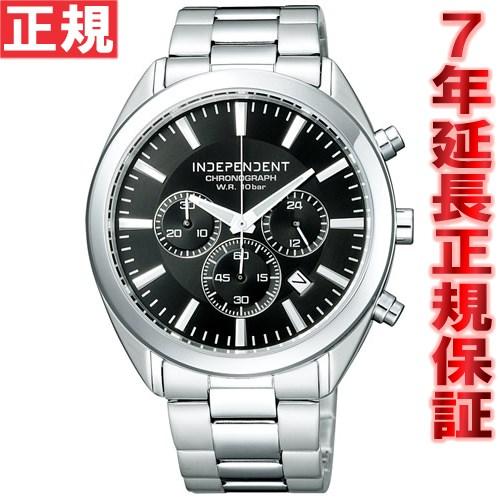 インディペンデント INDEPENDENT 腕時計 メンズ 時計 クロノグラフ シチズン CITIZEN BR1-412-51