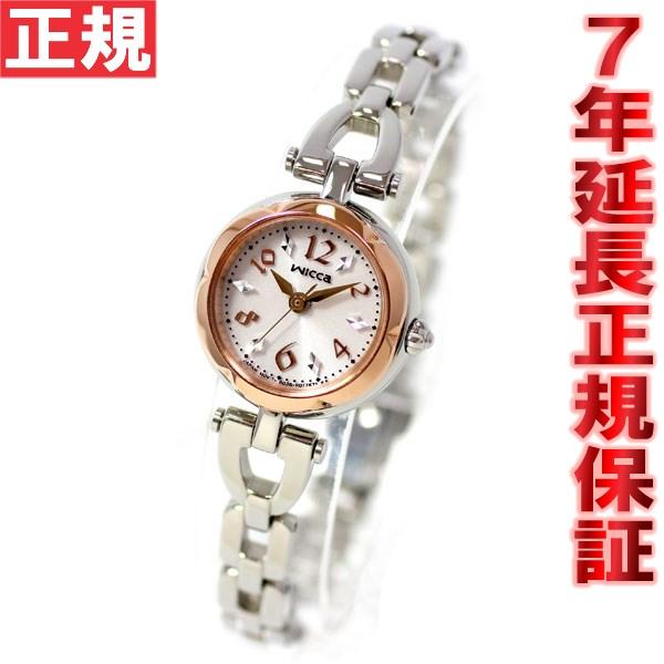 シチズン ウィッカ CITIZEN wicca エコドライブ ソーラー 腕時計 レディース アクセサリー/フラワーブレス KF2-510-11