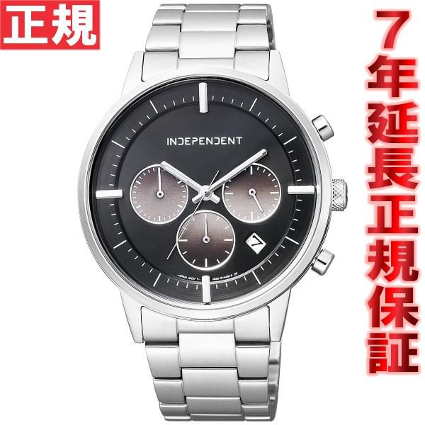インディペンデント INDEPENDENT 腕時計 メンズ タイムレスライン クロノグラフ BR1-811-51