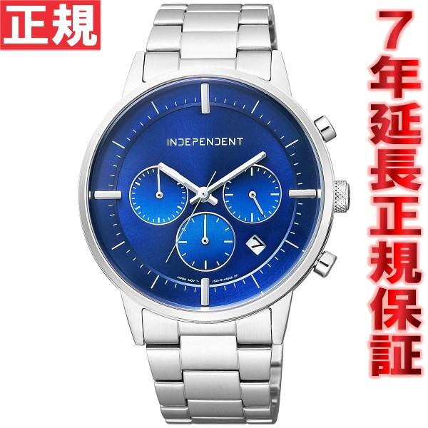 【SHOP OF THE YEAR 2018 受賞】インディペンデント INDEPENDENT 腕時計 メンズ タイムレスライン クロノグラフ BR1-811-71