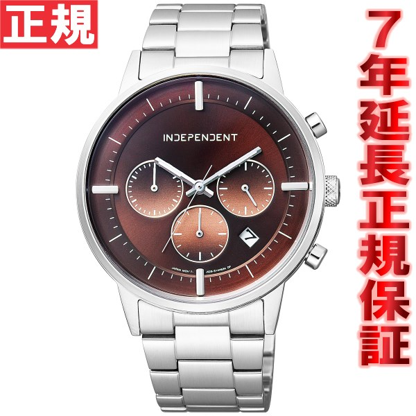 インディペンデント INDEPENDENT 腕時計 メンズ タイムレスライン クロノグラフ BR1-811-91