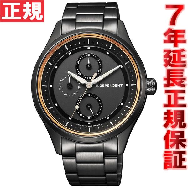 インディペンデント INDEPENDENT ソーラー 腕時計 メンズ タイムレスライン ソーラーテック マルチカレンダー KB1-244-51