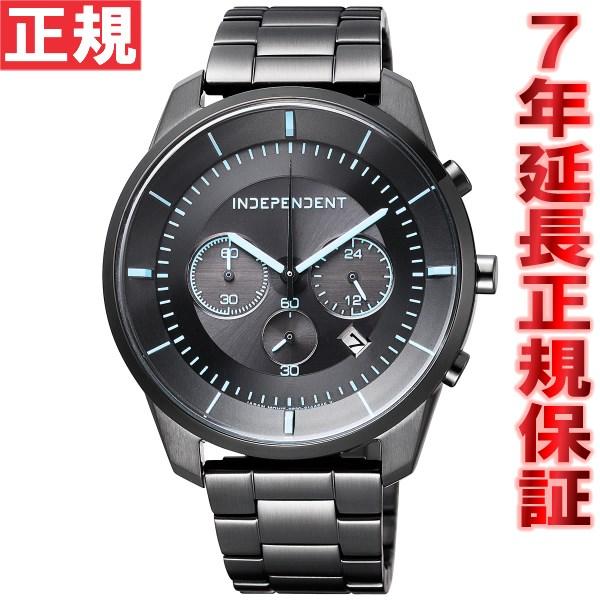 インディペンデント INDEPENDENT ソーラー 腕時計 メンズ タイムレスライン クロノグラフ KF5-144-51