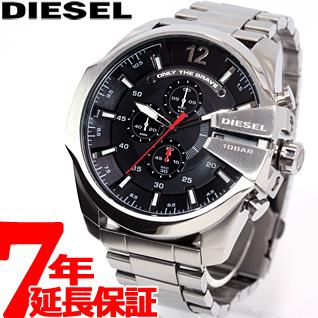 【SHOP OF THE YEAR 2018 受賞】ディーゼル DIESEL 腕時計 メンズ メガチーフ MEGA CHIEF クロノグラフ DZ4308