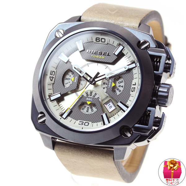 Diesel DIESEL watches mens URBAN SAFARI collection BAMF chronograph DZ7342