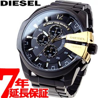 ディーゼル DIESEL 腕時計 メンズ メガチーフ MEGA CHIEF クロノグラフ DZ4338