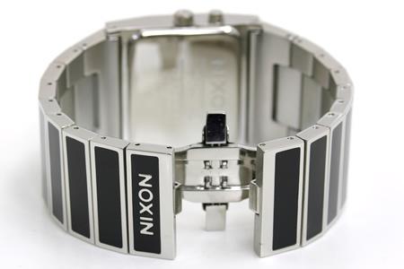 Nixon rotolog】dark NIXON ROTOLOG black NA028000