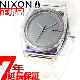 【SHOP OF THE YEAR 2018 受賞】ニクソン NIXON タイムテラーP TIME TELLER P 腕時計 メンズ/レディース トランスルーセント NA1191779-00