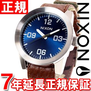 10%OFFクーポン!31日23:59まで! ニクソン NIXON コーポラル CORPORAL 腕時計 メンズ ブラウン/ブルーサンレイ NA2431656-00