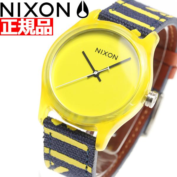 ニクソン NIXON モッドアセテート MOD ACETATE 腕時計 メンズ/レディース イエロー NA402250-00