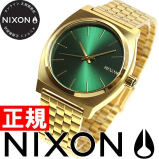 ニクソン NIXON タイムテラー TIME TELLER 腕時計 メンズ ゴールド/グリーンサンレイ NA0451919-00