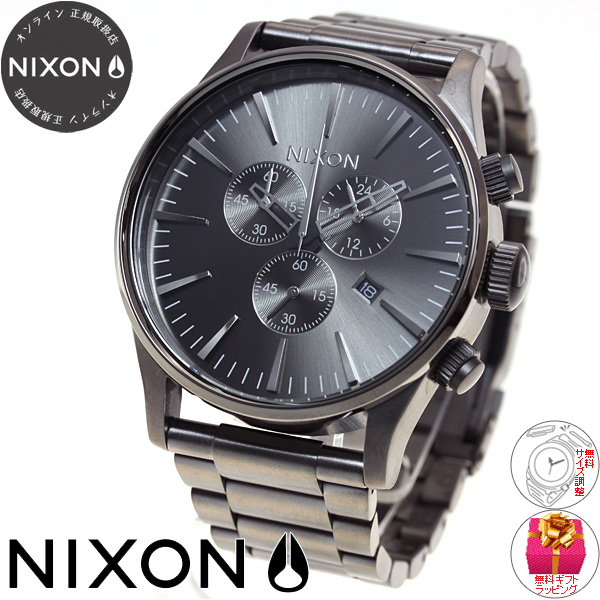 닉슨 NIXON セントリークロノ SENTRY CHRONO 시계 남성용 크로 노 메탈 NA386632-00