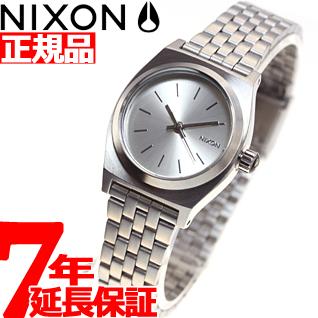 【お買い物マラソンは当店がお得♪本日20より!】ニクソン NIXON スモールタイムテラー SMALL TIME TELLER 腕時計 レディース オールシルバー NA3991920-00