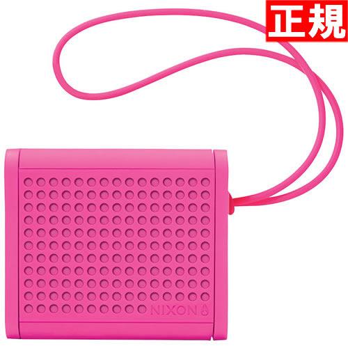 【お買い物マラソンは当店がお得♪本日20より!】ニクソン NIXON ミニブラスター MINI BLASTER ブルートゥース Bluetooth スピーカー マゼンタ NH012076