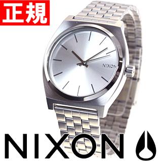 ニクソン NIXON タイムテラー TIME TELLER 腕時計 メンズ オールシルバー NA0451920-00