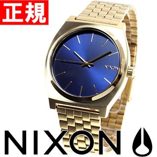 【SHOP OF THE YEAR 2018 受賞】ニクソン NIXON タイムテラー TIME TELLER 腕時計 メンズ オールライトゴールド/コバルト NA0451931-00