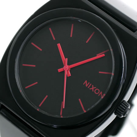 Nixon NIXON time teller p TIME TELLER P Nixon watches women's NA119480-00 black and bright pink
