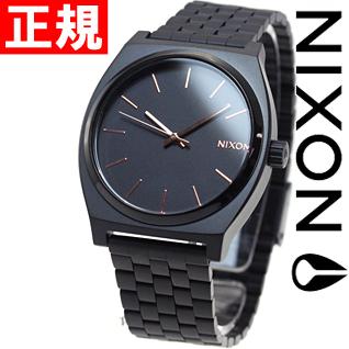 ニールがお得!今ならポイント最大39倍!10日23時59分まで! ニクソン NIXON タイムテラー TIME TELLER 腕時計 メンズ オールブラック/ローズゴールド NA045957-00