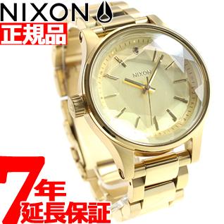 ニクソン NIXON ファセット38 FACET 38 腕時計 レディース オールゴールド NA409502-00