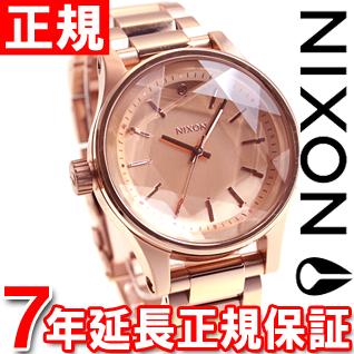 ニクソン NIXON ファセット38 FACET 38 腕時計 レディース オールローズゴールド NA409897-00