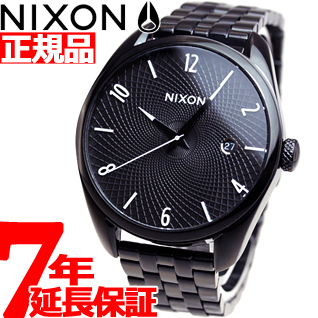 【お買い物マラソンは当店がお得♪本日20より!】ニクソン NIXON ブレット BULLET 腕時計 レディース オールブラック NA418001-00