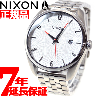 ニクソン NIXON ブレット BULLET 腕時計 レディース ホワイト NA418100-00