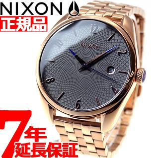 【SHOP OF THE YEAR 2018 受賞】ニクソン NIXON ブレット BULLET 腕時計 レディース オールローズゴールド/ガンメタル NA4182046-00