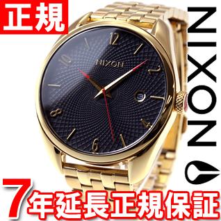 ニクソン NIXON ブレット BULLET 腕時計 レディース オールゴールド/ブラック NA418510-00