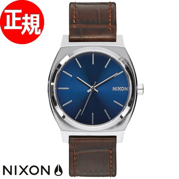 【お買い物マラソンは当店がお得♪本日20より!】ニクソン NIXON タイムテラー TIME TELLER 腕時計 メンズ ブラウンゲーター NA0451887-00