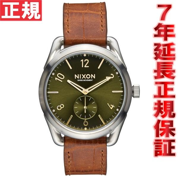 ニクソン NIXON C39レザー C39 LEATHER 腕時計 メンズ/レディース サドルゲーター NA4591888-00