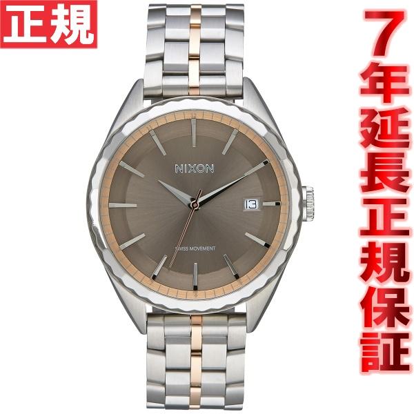 ニクソン NIXON ミンクス MINX 腕時計 レディース シルバー/ローズゴールド/トープ NA9342215-00
