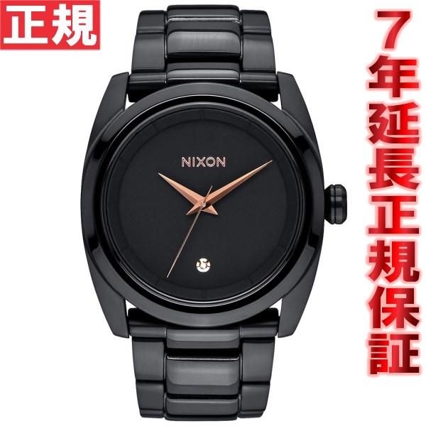 【お買い物マラソンは当店がお得♪本日20より!】ニクソン NIXON クイーンピン QUEENPIN 腕時計 レディース オールブラック NA935001-00