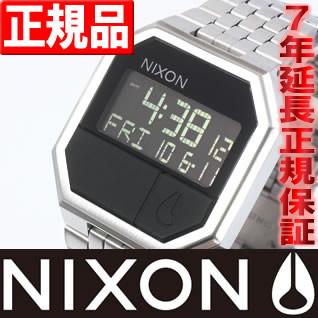 NIXON RE-RUN (リ・ラン) ブラック ニクソン 腕時計 メンズ NA158000-00